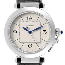 Cartier Pasha new Automatic Watch with original box W3107255