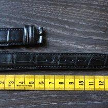 IWC Alligator leather leder 22mm black schwarz strap