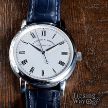 A. Lange & Söhne Richard Lange Platinum 40.5mm Silver Roman numerals United States of America, California, Irvine