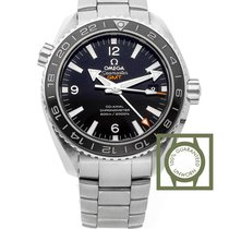 Omega Seamaster Planet Ocean 600M Co-Axial 43.5 GMT Steel
