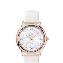 Omega Ladies 42422332055001 De Ville Prestige Co-Axial Watch