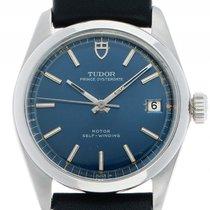 Tudor 34mm Automatik gebraucht Prince Oysterdate Blau