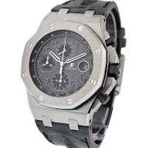 Audemars Piguet Royal Oak Offshore Chronograph Steel 42mm Grey Arabic numerals Singapore, Singapore