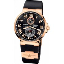 Ulysse Nardin Chronometer 43mm Automatic new Marine Chronometer 43mm Black