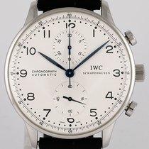 IWC Portugieser Chronograph gebraucht Stahl