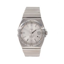 Omega Constellation Acero 40mm Gris