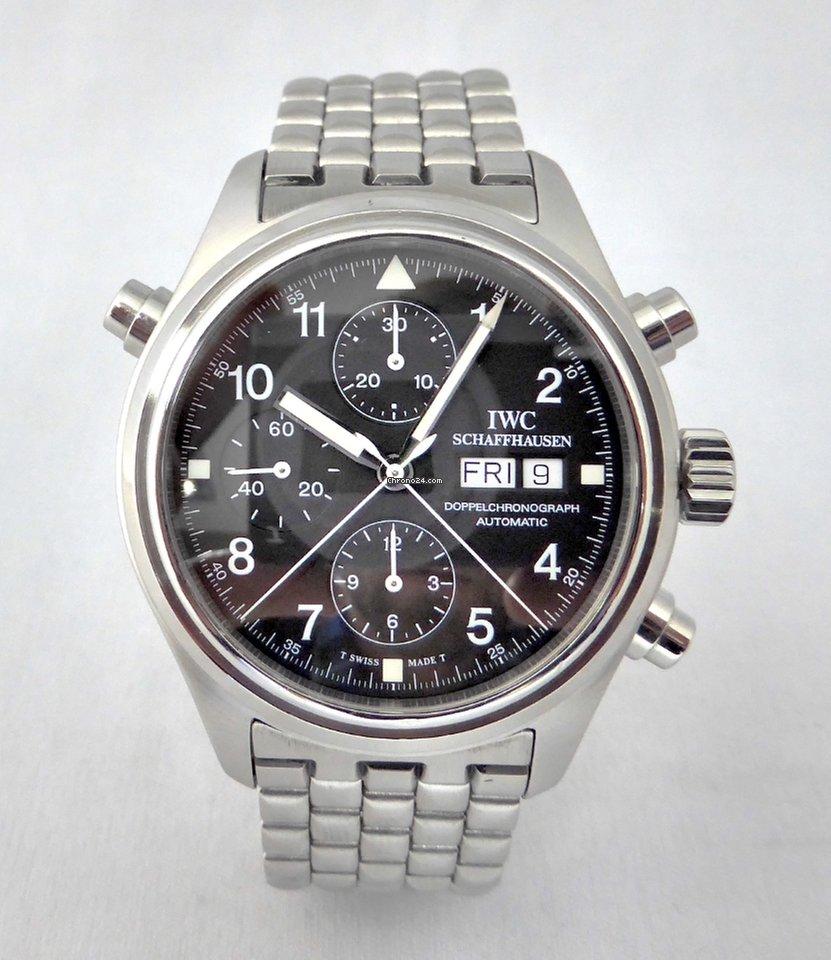 IWC Pilot Double Chronograph órák  fc5283ccf4
