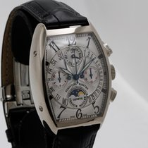 Franck Muller White gold 33mm Automatic 6850 CC QPB pre-owned