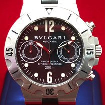 Bulgari Steel 38mm Automatic SCB38S pre-owned