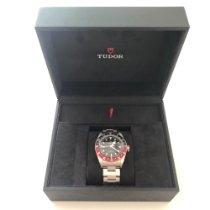 튜더 Black Bay GMT 신규 2019 자동 시계 및 정품 박스와 서류 원본 M79830RB-0001