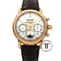Patek Philippe Perpetual Calendar Chronograph Rose gold 40.2mm Silver No numerals United States of America, New York, New York