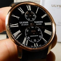 Ulysse Nardin Marine Torpilleur Rose gold 42mm Black United States of America, North Carolina, Winston Salem
