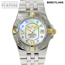 Breitling B71340 Gold/Steel Starliner 30mm pre-owned