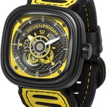 Sevenfriday P3-3 Stal 47mmmm