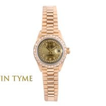 Rolex Lady-Datejust 69178 Very good Yellow gold 26mm