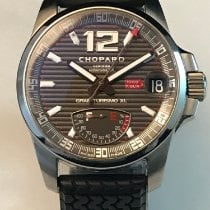 Chopard Steel Automatic Grey Arabic numerals 44mm pre-owned Mille Miglia