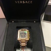 Versace Rose gold Quartz 10082244 pre-owned UAE, ras al khaimah