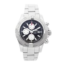 Breitling Super Avenger II Steel 48mm Black No numerals United States of America, Pennsylvania, Bala Cynwyd