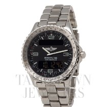 Breitling A56012.1 Steel Chronospace 42mm pre-owned United States of America, New York, Hartsdale