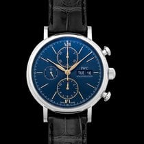 IWC Portofino Chronograph Steel 42.0mm Blue United States of America, California, San Mateo