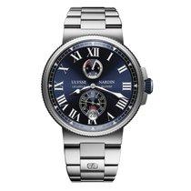 Ulysse Nardin Marine Chronometer Manufacture 11831227M/43 новые