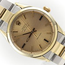 Rolex Air King Precision Gold/Stahl 34mm Gold