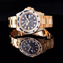 Rolex GMT-Master II Yellow gold 40mm Black United States of America, California, Burlingame