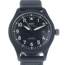 IWC Pilot Chronograph Top Gun pre-owned 41mm Date Leather