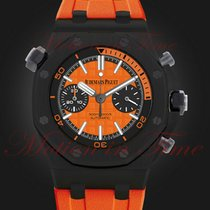 Audemars Piguet Royal Oak Offshore Diver Chronograph 42mm Naranja Sin cifras