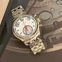 Patek Philippe Annual Calendar Chronograph Steel 40.5mm Silver No numerals United Kingdom, London