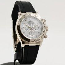Rolex Daytona White gold 40mm White Arabic numerals