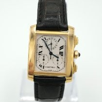 Cartier Tank Française Yellow gold 28mm White Roman numerals United States of America, California, Marina Del Rey