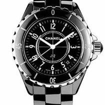Chanel J12 Céramique 33mm Noir Arabes