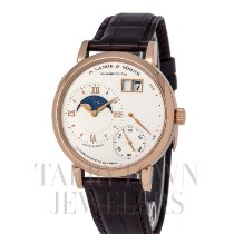 A. Lange & Söhne Grand Lange 1 Rose gold 41mm Silver Roman numerals United States of America, New York, Hartsdale