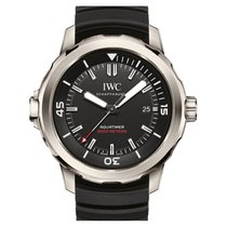 IWC Aquatimer Automatic 2000 Titanium 42mm Black No numerals United States of America, New York, New York