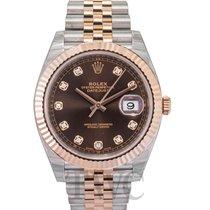 Rolex Datejust II Rose gold Brown