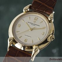 Vacheron Constantin 18k Gold Alma Mater Automatik Herrenuhr 48003