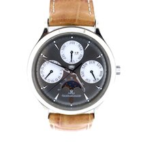 Jaeger-LeCoultre Master control perpetual calendar moon phase...