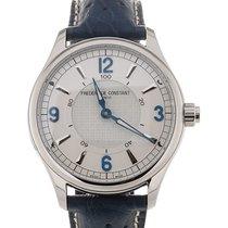 Frederique Constant Horological Smartwatch 42 Silver Dial Blue...