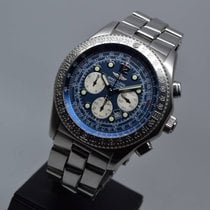 Breitling B-2 Automatic Chronograph Blue with 1 year warranty