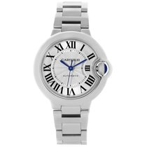 Cartier Ballon Bleu Stainless Steel Automatic Womens Watch...