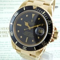Rolex Submariner  Gold Nipple Dial  - unpolished -  Box & Papers