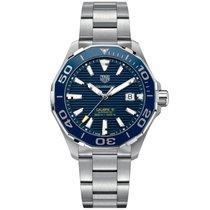 TAG Heuer Aquaracer 300M nuevo 2019 Automático Reloj con estuche y documentos originales WAY201B.BA0927