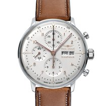 Junkers Chronograph 42,00mm Automatic 2018 new Iron Annie Ju 52 White