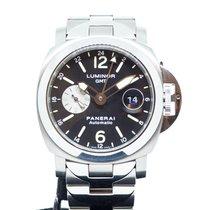 Panerai Luminor GMT w/ Steel/Titanium Bracelet PAM 161 G