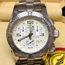 Breitling Emergency Steel 45mm White Arabic numerals United Kingdom, Wilmslow