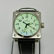 Revue Thommen Steel 40mm Automatic Airspeed Instruments pre-owned