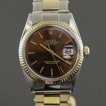 Rolex Datejust 1601 Steel Gold - Oyster Braclet - Chocolate Dial