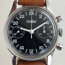 Gallet Steel 35mm Manual winding pre-owned