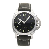 Panerai Luminor 1950 3 Days GMT Automatic pre-owned 42mm Steel